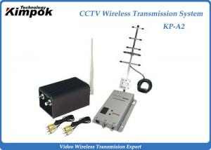 China CCTV 2000mW High RF Power Long Range Wireless Video Transmitter For Wireless Security System on sale