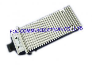 China X2 MSA 10 Gigabit Ethernet Transceiver , APD Photo Detector Optical Fiber Transceiver on sale