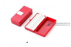 China 20 Count Foam Block Needle Magnetic Counters Medical Needle Container on sale