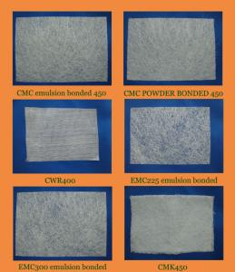 China Estera tajada fibra de vidrio de cristal del filamento de E on sale