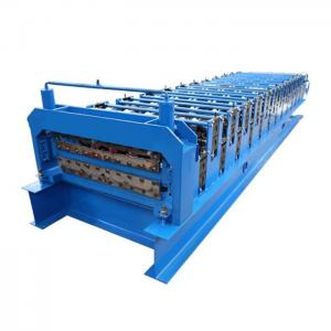 China Color Corrugated Shape Roll Forming Machine Sheet Metal Roll Forming Machine Detail on sale