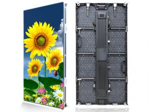 China Advertising Outdoor Rental LED Display , Vertical LED Video Display Panel on sale