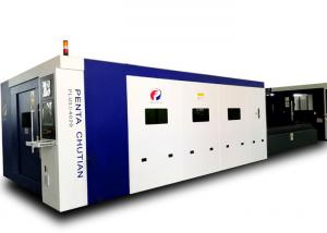 China Laser Metal Cutting Equipment , 380V 50Hz CNC Steel Laser Cutter on sale