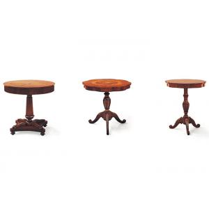 China Modern Reception Hay Coffee Table , High End Carving Design Wood End Tables on sale