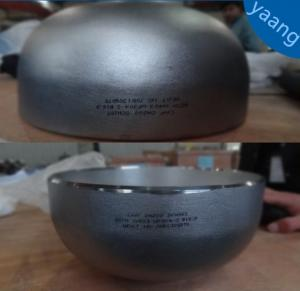 China ANSI/ASME B16.9 Stainless Steel 3 Inch Pipe Cap wholesale