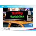 China Commercial Taxi Rooftop Advertising Led Display 40000dots/Sqm , High Brightness wholesale