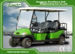 Excar 6 seat Electric golf buggy,48V 3.7KW motor trojan battery golf car