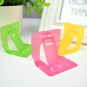 China Popular Personalized Plastic Cell Phone Stand Mobile Phone Desk Holder on sale