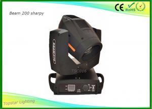China Moving Head Spot Light Philips 5R Lamp , Moving Head Dj Lights 8 Rotation Prism on sale