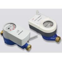Valve Control Wireless Remote Reading Water Meter With DN15 - DN25 Iron Housing