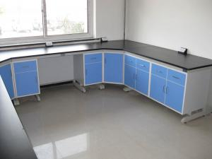 China Corrosion Resistance College Modular Lab Furniture With Steel Frame Cabinet on sale