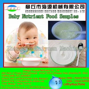 China Thailand twin screw extruder baby milk rice powder /nutritional rice powder process line on sale