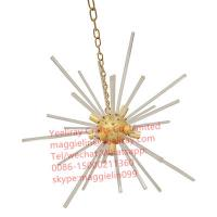 China YL-L1051 China Wholesale Silver and gold Vintage Indoor Lighting  Metal Ceiling Pendant Light LED chandelier on sale