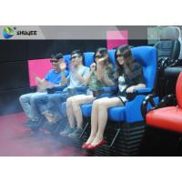 2DOF 4D Movie Theater With Durable Electric Motion Seat And 13 Special Effects