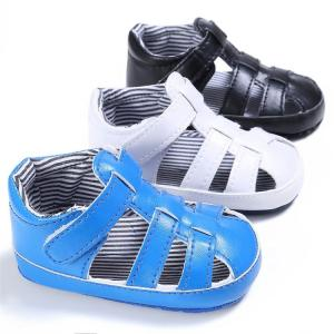 China Hot selling infant Sandals soft-sole 0-18months Toddler baby shoes for Boy and Girl on sale
