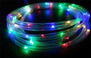 China Twistable Mini RGB Color Changing LED String Lights 2M 3M / Fibre Optic String Lights on sale
