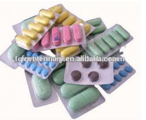 China Oxytetracycline tablets 100mg/0.3g for animal use on sale