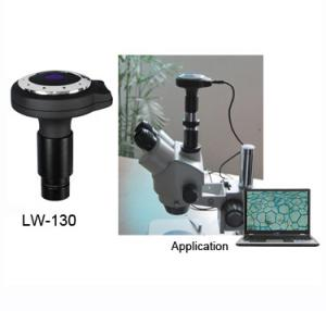 China LW-130 chinese 1.3M pixel high resolution microscope digital camera electronic eyepiece on sale