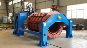 China Steel reinforced pipe making machine,concrete pipe making machine price on sale