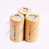 Emergency lights battery low and high temperature D size NiCd rechargeable battery