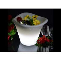Wedding Decoration Light Up LED Ice Bucket 3 Lips With Battery Operated