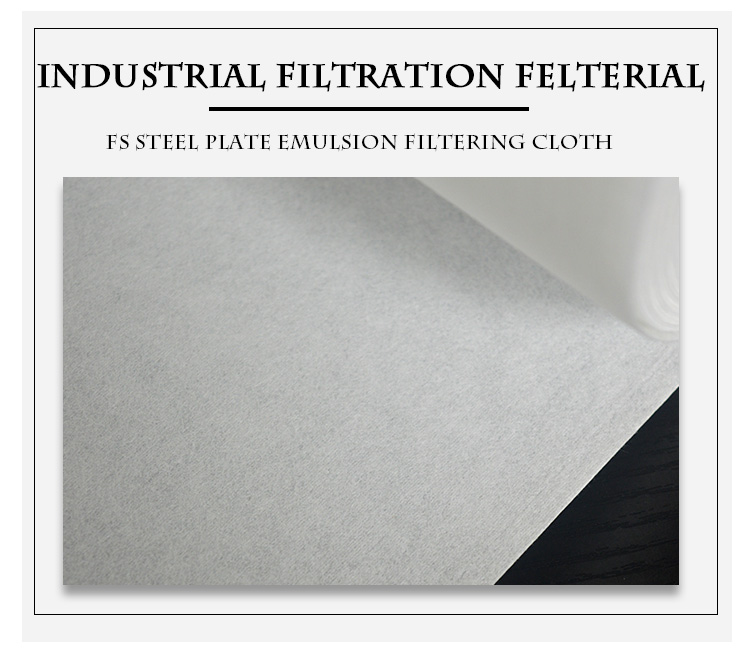 Industrial filter paper for grinding coolant or cutting oil