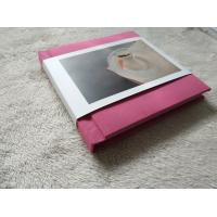 China Custom Flush Mount Photo Album , Travel 10 x 10 PVC Album Matt Art Paper on sale
