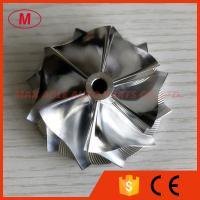 K04 48.00/60.00mm 6+6 blades high performance turbocharger billet/milling/aluminum 2618 compressor wheel