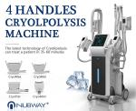 Fast Fat Reduction! 4 Handles Cryolipolysis Fat Freezing Machine
