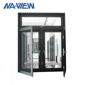 China Modern Designs French Models Dimensions Solid Wooden Arch Teak Wood Aluminium-Wood Clad Casement Windows on sale