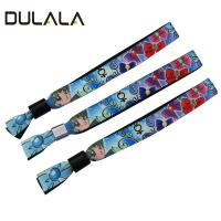 Different Colors 15mm Heat Transfer Bracelet Lanyard for Game and Music Festival