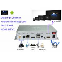 UHD H.265 4K Digital Signage 4k Android Streaming Media Player For Advertisement