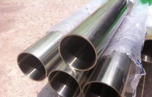 China DIN17006 X5CrNi18-10 Food Grade Stainless Steel Tubing Mirror Polish on sale