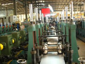 China high speed steel pipe production line of Erw Pipe Mill TYPE GH HG ZG 76 on sale