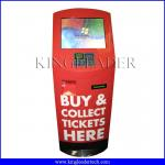 Payment self serve kiosk with POS PINPAD and 80mm thermal printer