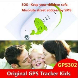 China GPS302 Kids Child Elderly Safety Mini GPS SMS Tracker W/ SOS Button & 2-Way Communication on sale