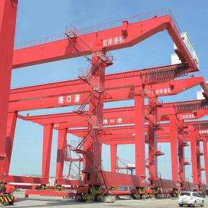 China Quay Gantry Crane  For Lifting Containers Drawing On Seaport 30.5 - 40.5T on sale