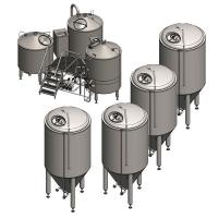 Beer Brewing Equipment Simple/500L Beer Making Machines/800L Output Beer Machine/Birthday Party Beer Brewing Equipment
