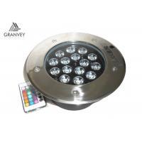 Dustproof Underground Led Spotlight Ip67 Waterproof 15w With 15pcs Led