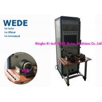 Visible Process / Result Armature Testing Machine , Motor Winding Testing Equipment For 3 Phases AC Induction Motor