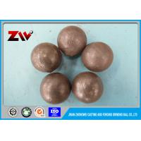 China SGS verified Forged SAG mill grinding balls for power station and mining on sale