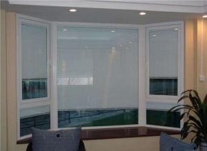 China Aluminum Internal Blinds Glass For Entry Doors Steel Door Security Door on sale