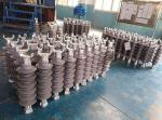 69KV 9.5KN Transmission Line Post Insulators With Vertical Clamp