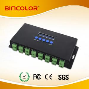 China 16 channels  Ethernet-SPI/DMX pixel light controller Artnet controller,3A*16CH on sale