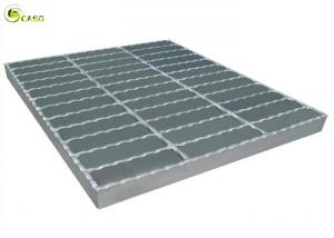 China Water Drain Hot Dip Galvanized Catwalk Plain Metal Grid Floor Steel Grating on sale