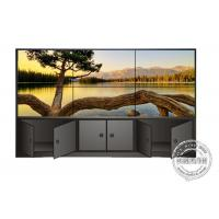 Splicing Narrow Bezel 5.5mm Seamless Floor Standing Digital Signage Lcd Display High Brightness
