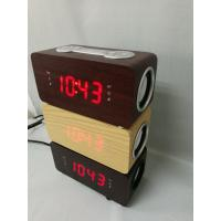China Clock radio with bluetooth and speaker on sale