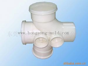 China Plastic injection mould of fitting pipes plastic mould manufacture on sale