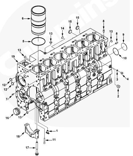 13 3004258 Plug Expansion Cummins Engine Partsshantui New Power
