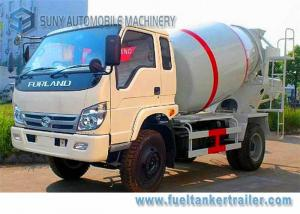 China Rhd Forland 3 Cbm Cement Concrete Mixer Truck Air Braking Euro 2 Emission Standard on sale